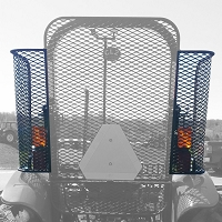 Side 1/4 Panel Rock Screen (Right & Left) Guard  For New Holland WORKMASTER 55, 65, and 75