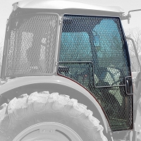 Rock Screen Guard For Right (Passenger) Door Fits John Deere 5085M, 5100M, 5115M, 5100R, 5115R, 5125R, 6105E, 6120E, and 6130E