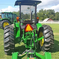 Rear Rock Screen Guard For John Deere 5000 Series Tractors