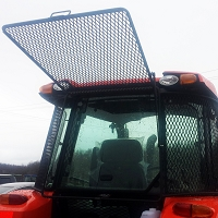 Rear Rock Screen Guard For Kubota Tractors M5-091, M5-111