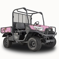 Realtree Camo Vinyl Vehicle Wrap for RTV-X900, X1120 - RealTree Xtra (Pink)