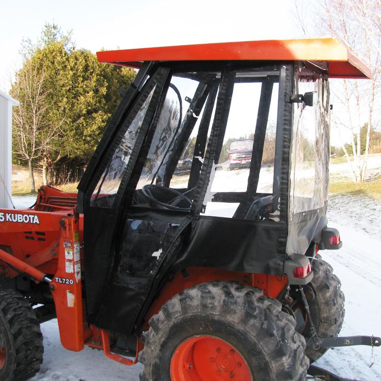 Tractor Cab Enclosure for Kubota B21