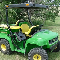 FEMCO ABS Plastic Canopy for John Deere Gator TS, TX, TH Gators