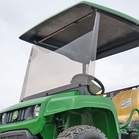 Acrylic Windshield for John Deere T-series Gator (Requires Fiberglass Canopy Kit FF-DCGT)