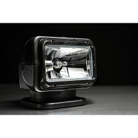 GOLIGHT Halogen Spot Light with Hardwired Dash Mounted Remote (Black)