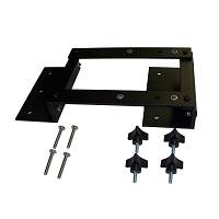 QuickDraw Vertical Gun Rack Adapter Plate for Polaris Ranger 400, 500, 570 Mid Size & 800 Mid Size