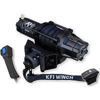 KFI Assault 5000lb Winch - Synthetic Cable