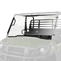 Hardcoated Polycarbonate Full Windshield For Kawasaki Mule Pro- FX/FXT/DXT/FXR