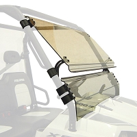 Full Tilt Hardcoated Polycarbonate Windshield for Full Size Polaris Ranger XP, Ranger LE, Ranger Crew