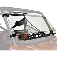 Full Tilt Hardcoated Polycarbonate Windshield for '15-'18 Polaris Ranger Full Size (Pro-Fit)