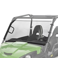 Full Length Hardcoated Polycarbonate Windshield for John Deere Gator Midsize