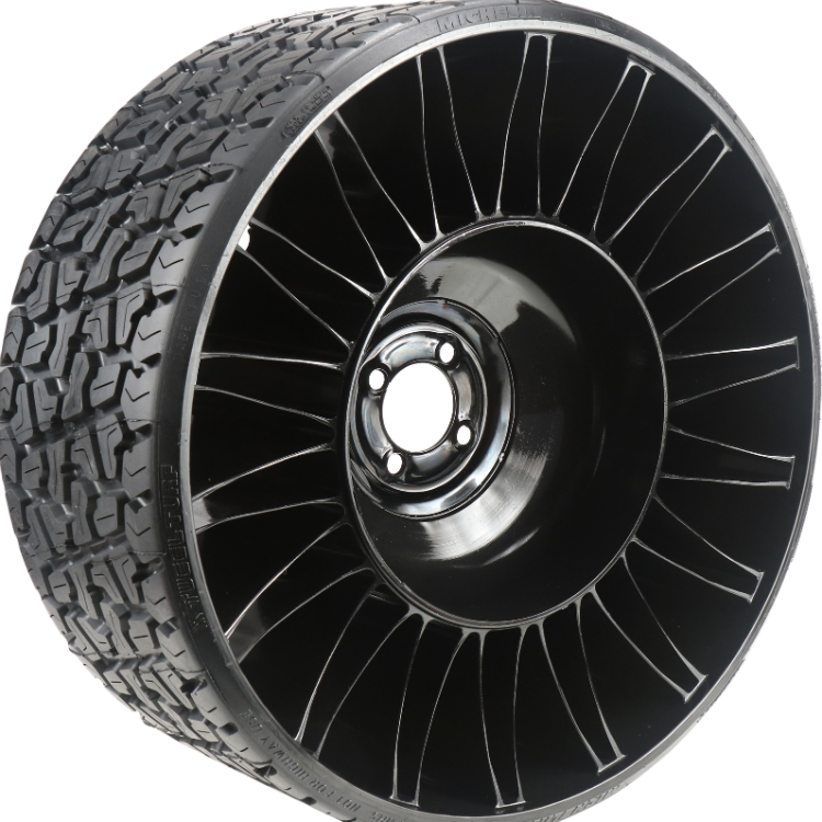 Michelin X Tweel Turf Airless Radial Tire 24 Quot X 12 Quot N12