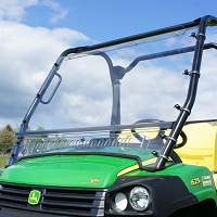 Full Length Vented Lexan Polycarbonate Windshield for the John Deere HPX & XUV Gator