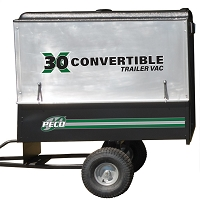 X30 - 30 Cubic Foot Trailer Vacuum with Briggs & Stratton 900 Series Gas Engine