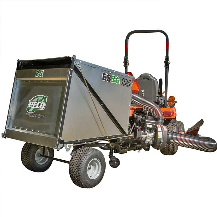 ES36 Estate Series - 36 Cubic Foot Trailer Vacuum with 6 5 HP Briggs &  Stratton Vanguard Engine