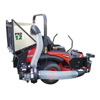 PRO12 DFS Commercial Zero Turn Vac System - Briggs & Stratton 900 Series Gas Engine