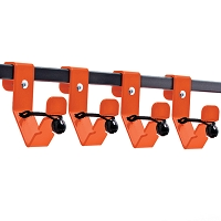 Accessory Rack Hooks for Accessory Rack System (Set of 4)