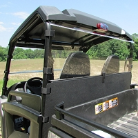 Acrylic Rear Windshield and Hard Dust Panel for John Deere Mid-Size Gators