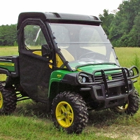HINGED DOOR & REAR WINDOW KIT FOR JOHN DEERE GATOR FULL SIZE XUV, HPX