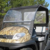 Soft Top Sunshade & Rear Panel for Kubota RTV400 & RTV500
