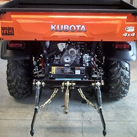 The Farmboy Sport X 3-Point Hitch for Kubota X-Series RTVs