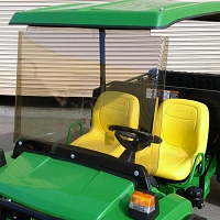 ACRYLIC WINDSHIELD KIT FOR JOHN DEERE TS, TX, TH & TE GATOR