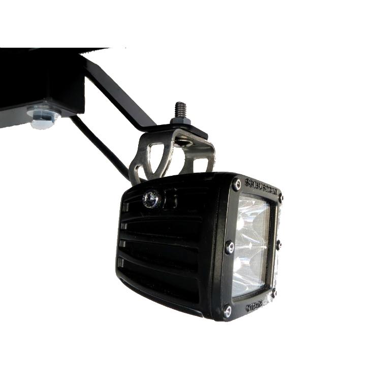Heavy Duty Fan >> Canopy Mounted Light Bracket - Pair