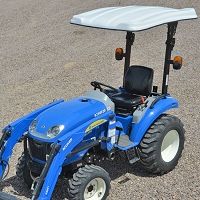 KIT: TAP103 FIBERGLASS CANOPY KIT FOR NEW HOLLAND TRACTORS (46