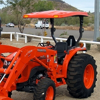KIT: FIBERGLASS CANOPY KIT FOR KUBOTA L & M SERIES TRACTORS