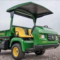 KIT:  FIBERGLASS CANOPY KIT FOR THE JOHN DEERE ProGator UTILITY VEHICLE (2020A - 2030A)