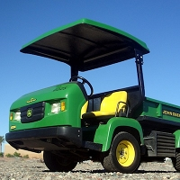 TAPRO1 Fiberglass Canopy for the John Deere ProGator