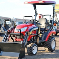 KIT: TX4 FIBERGLASS CANOPY KIT FOR SUB-COMPACT TRACTORS