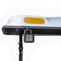 LED WORK LIGHT KIT FOR PREMIUM FIBERGLASS CANOPIES