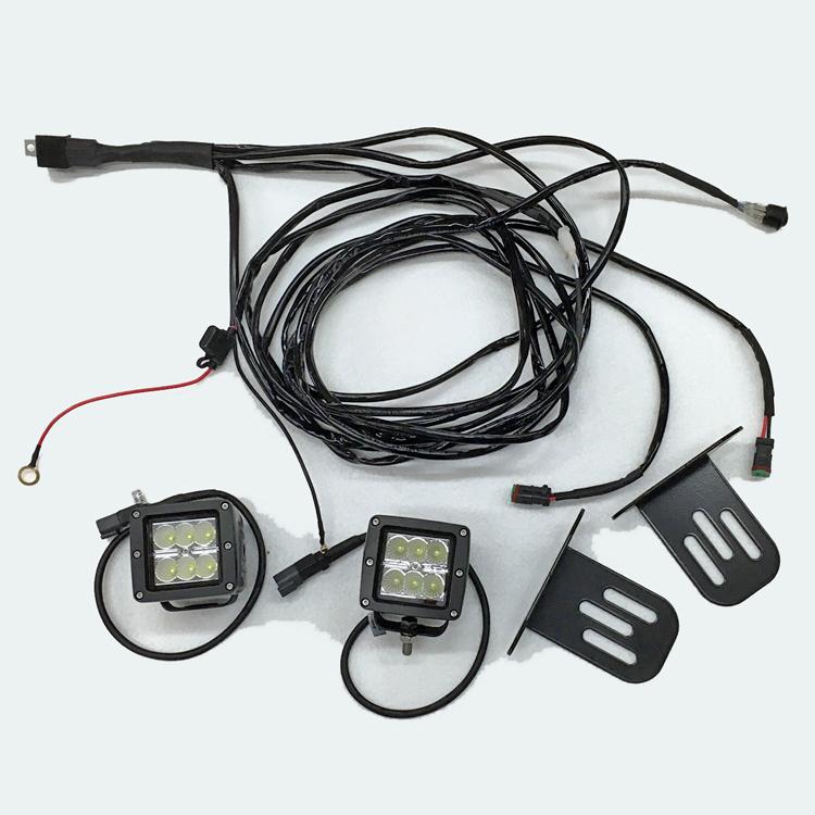 ROPS Mounted LED Work Light Kit
