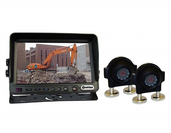 "7"" Overview Double Camera Kit"