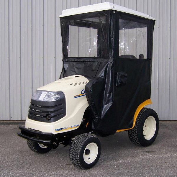 Standard Cab with Hinged Doors for Cub Cadet 2000 & 2500 Lawn Tractors