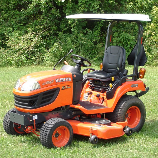 Hardtop ABS Plastic Canopy Mowers and Compact Tractors