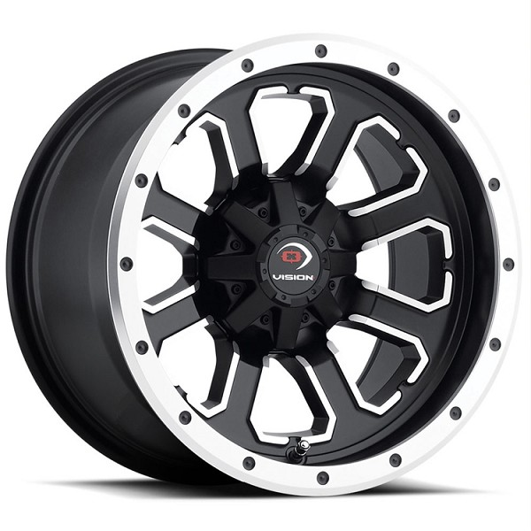 "12"" x 8"" Commander UTV Wheel - 4x110 Bolt Pattern"
