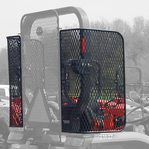 Set of Side Screens for Use with Protective Rear Screen -For MX Series Tractors MX4800, MX5200, MX5800