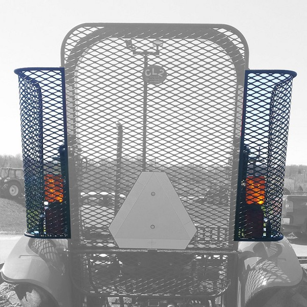 Side 1/4 Panel Rock Screen (Right & Left) Guard  For New Holland WORKMASTER 50, 60, 70, and Case IH Farmall 50A, 60A, and 70A