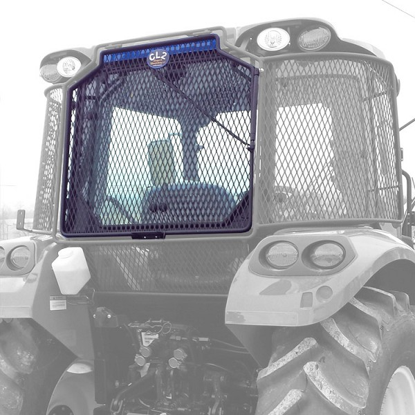 Rock Screen Guard For Right (Passenger) Door For New Holland T6 Series
