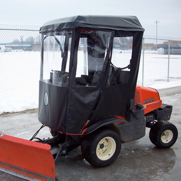 Cab Enclosure for Kubota Zero Turn 200 & 300 Series Mowers (Requires OEM Canopy)