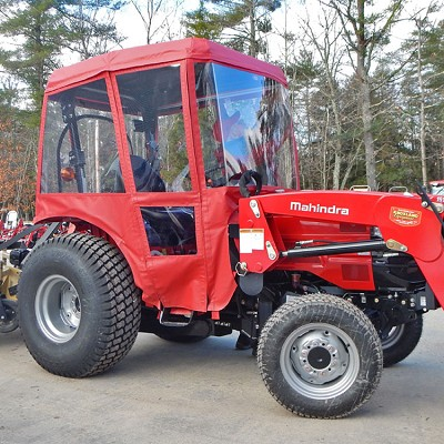 Mahindra Tractor Cab 1533, 1538, 3015, 3016, 3316, 3616: Requires Canopy