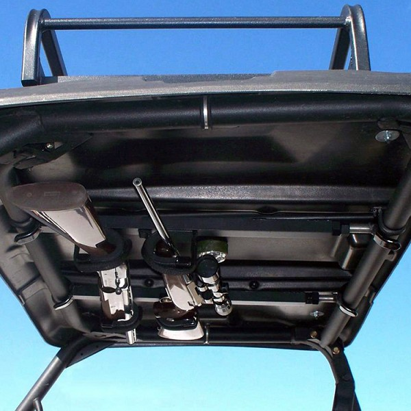 "QuickDraw Overhead Gun Rack - UTV's with Pro-Fit or ""D"" Shaped Roll Bars"