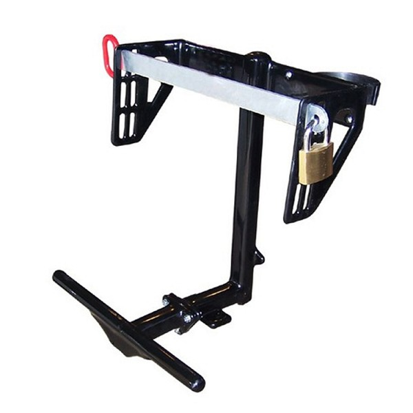 Backpack Blower Rack With Keyed Lock