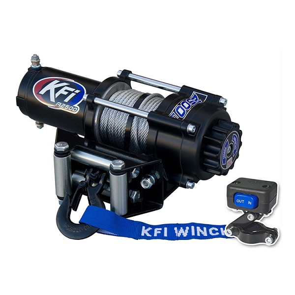 KFI 2500 lb UTV Series Winch - Steel Cable