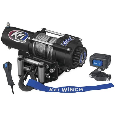 KFI 3000 lb UTV Series Winch - Steel Cable