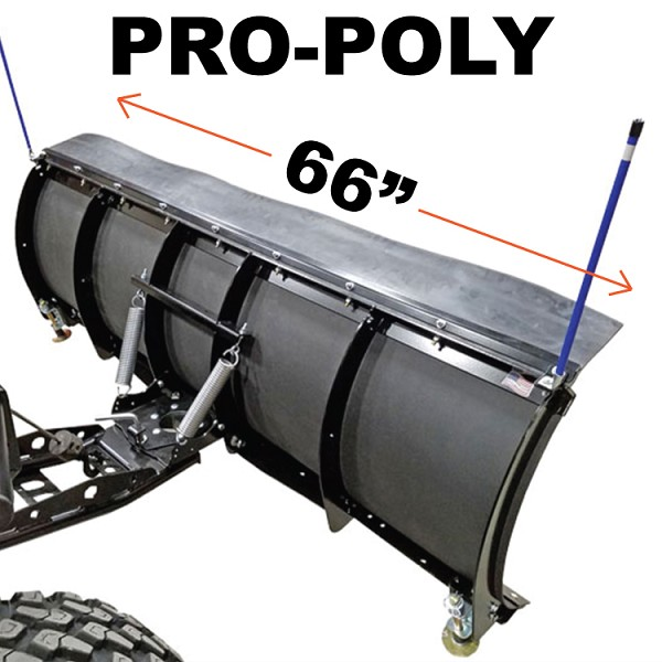 "66"" PRO-POLY Snow Plow Kit for Kubota Full Size RTV"