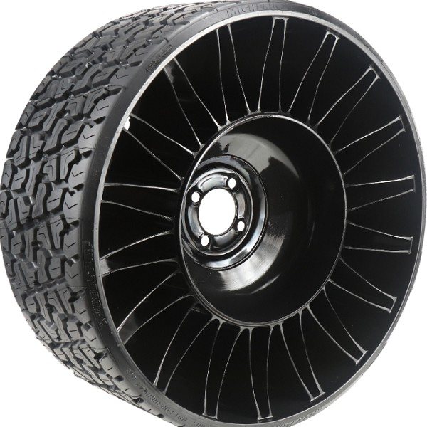 "Michelin X Tweel Turf Airless Radial Tire 24"" x 12"" N12 for Zero Turn Mowers (5 Bolt Pattern)"