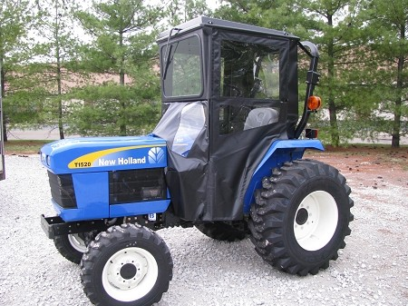 Standard Cab with Hinged Doors for New Holland TC30, TC1510 & TC1520 Tractors